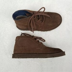 Kids UGG Pure Chukka Lace Up Desert Ankle Boot 13